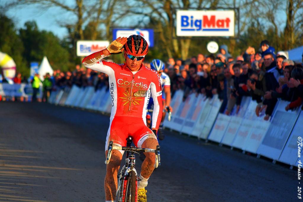 Clément Venturini a remporté la 1ère manche de la Coupe de France à Albi. ©Ronan Houssin