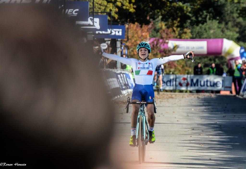 Chiara Teocchi (Italie) a remporté le titre Espoirs Dames. ©Ronan Houssin