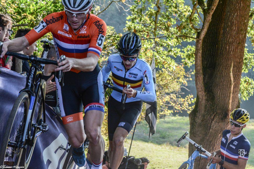 Quinten Hermans (Belgique) est champion d'Europe de cyclo-cross U23 Hommes. ©Ronan Houssin