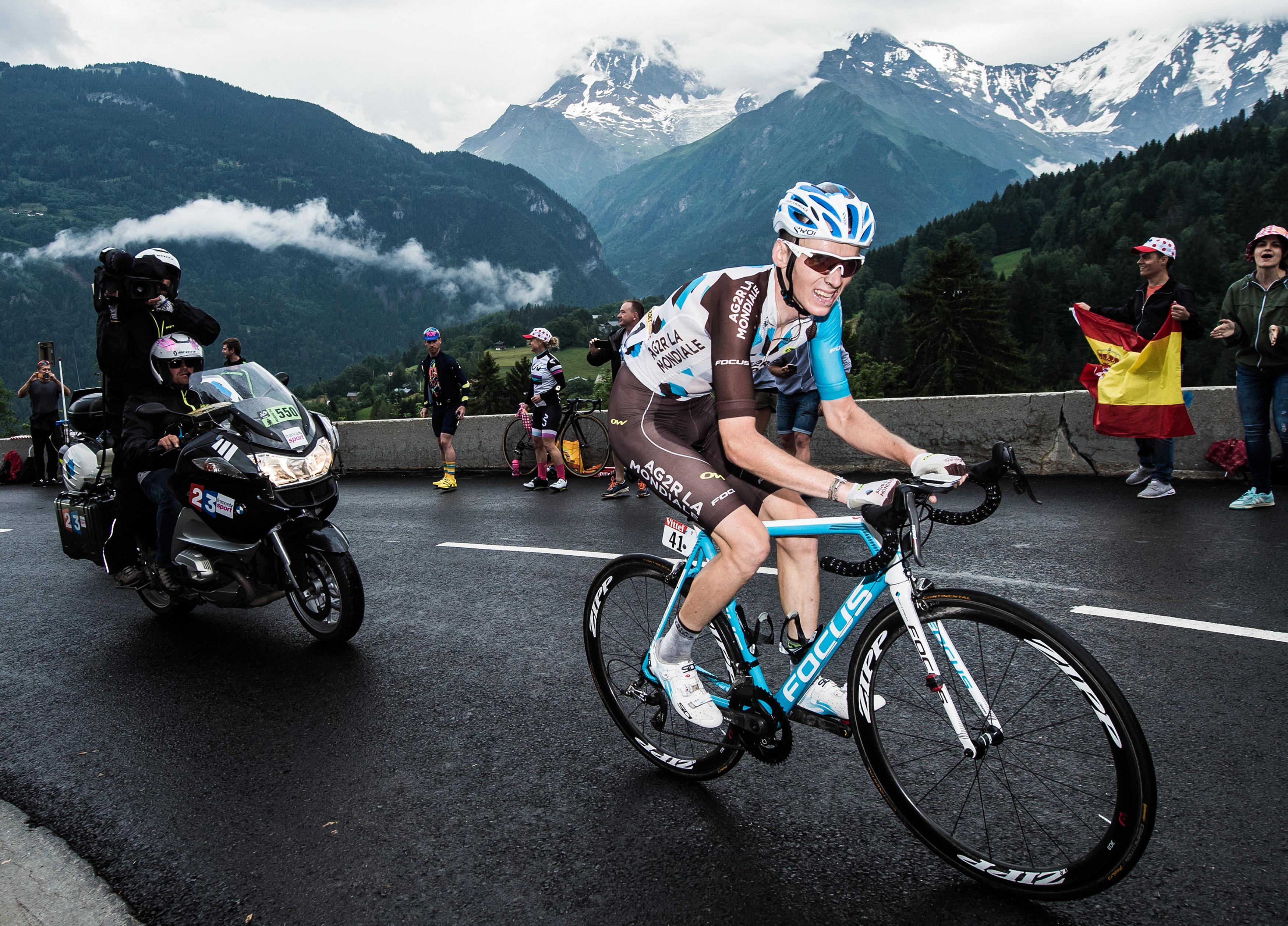 Romain Bardet se réjouit du parcours